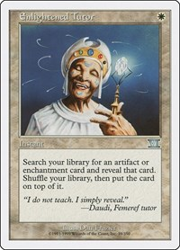 Enlightened Tutor, Magic, Classic Sixth Edition