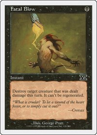 Fatal Blow, Magic: The Gathering, Classic Sixth Edition