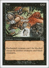 Fear, Magic: The Gathering, Classic Sixth Edition