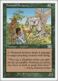 Femeref Archers, Magic: The Gathering, Classic Sixth Edition