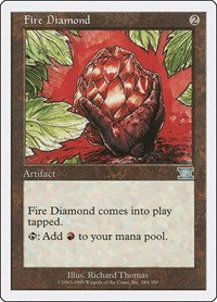 Fire Diamond, Magic: The Gathering, Classic Sixth Edition