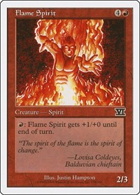 Flame Spirit, Magic: The Gathering, Classic Sixth Edition