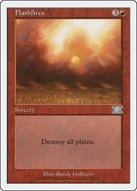 Flashfires, Magic: The Gathering, Classic Sixth Edition
