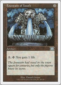 Fountain of Youth, Magic, Classic Sixth Edition