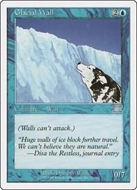 Glacial Wall, Magic, Classic Sixth Edition
