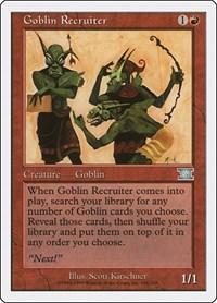 Goblin Recruiter, Magic: The Gathering, Classic Sixth Edition