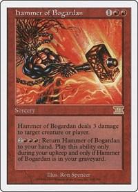 Hammer of Bogardan, Magic: The Gathering, Classic Sixth Edition