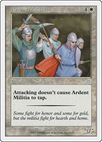 Ardent Militia, Magic: The Gathering, Starter 1999