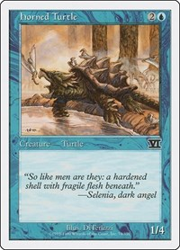 Horned Turtle, Magic: The Gathering, Classic Sixth Edition