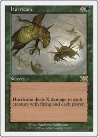 Hurricane, Magic: The Gathering, Classic Sixth Edition