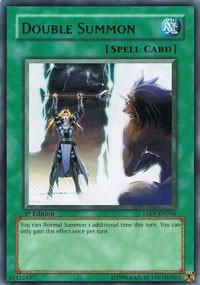 Double Summon, YuGiOh, Tactical Evolution
