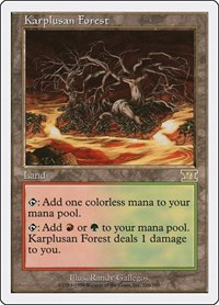 Karplusan Forest, Magic: The Gathering, Classic Sixth Edition