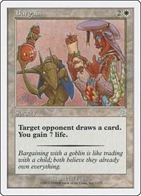 Bargain, Magic: The Gathering, Starter 1999