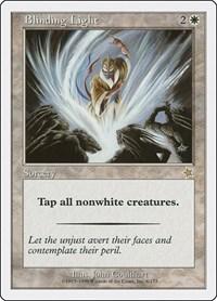 Blinding Light, Magic: The Gathering, Starter 1999