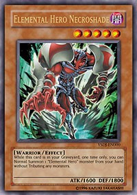 Elemental HERO Necroshade, YuGiOh, Starter Deck: Jaden Yuki