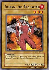 Elemental HERO Burstinatrix, YuGiOh, Starter Deck: Jaden Yuki