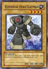 Elemental HERO Clayman, YuGiOh, Starter Deck: Jaden Yuki