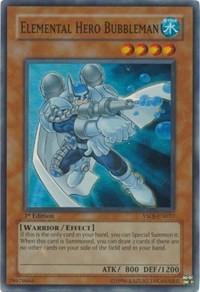 Elemental HERO Bubbleman, YuGiOh, Starter Deck: Jaden Yuki