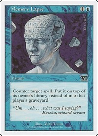 Memory Lapse, Magic: The Gathering, Classic Sixth Edition