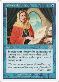 Mystical Tutor, Magic: The Gathering, Classic Sixth Edition