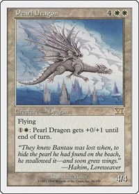 Pearl Dragon, Magic: The Gathering, Classic Sixth Edition