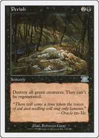 Perish, Magic, Classic Sixth Edition