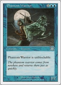 Phantom Warrior, Magic, Classic Sixth Edition
