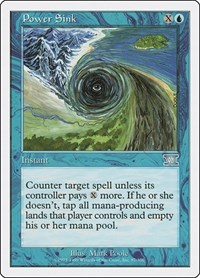 Power Sink, Magic: The Gathering, Classic Sixth Edition