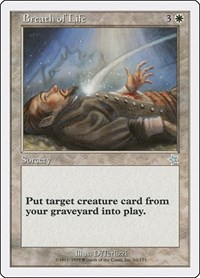 Breath of Life, Magic: The Gathering, Starter 1999