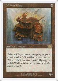 Primal Clay, Magic: The Gathering, Classic Sixth Edition