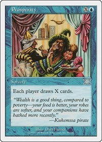 Prosperity, Magic: The Gathering, Classic Sixth Edition
