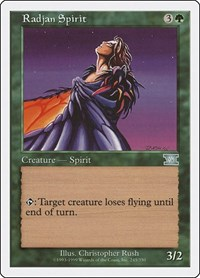 Radjan Spirit, Magic: The Gathering, Classic Sixth Edition