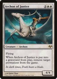 Archon of Justice, Magic: The Gathering, Eventide