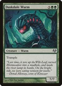 Duskdale Wurm, Magic: The Gathering, Eventide