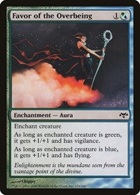 Favor of the Overbeing, Magic: The Gathering, Eventide