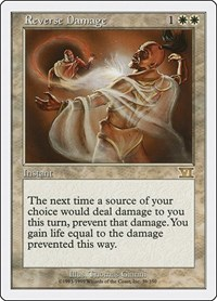 Reverse Damage, Magic: The Gathering, Classic Sixth Edition