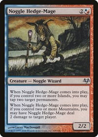 Noggle Hedge-Mage, Magic: The Gathering, Eventide