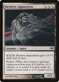 Restless Apparition, Magic: The Gathering, Eventide