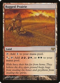 Rugged Prairie, Magic: The Gathering, Eventide