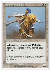 Charging Paladin, Magic: The Gathering, Starter 1999