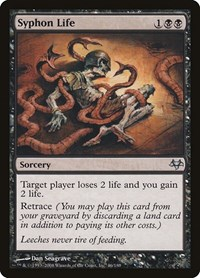 Syphon Life, Magic: The Gathering, Eventide