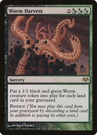 Worm Harvest, Magic: The Gathering, Eventide