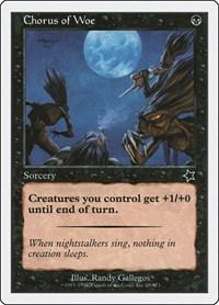 Chorus of Woe, Magic: The Gathering, Starter 1999
