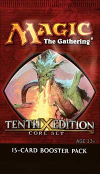 10th Edition - Booster Pack, Magic, 10th Edition
