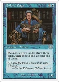 Soldevi Sage, Magic, Classic Sixth Edition