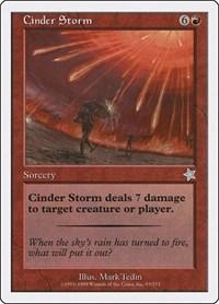 Cinder Storm, Magic: The Gathering, Starter 1999