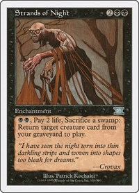 Strands of Night, Magic: The Gathering, Classic Sixth Edition