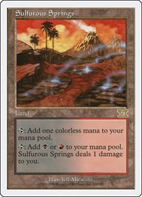 Sulfurous Springs, Magic: The Gathering, Classic Sixth Edition