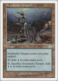 Svyelunite Temple, Magic: The Gathering, Classic Sixth Edition