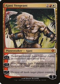 Ajani Vengeant, Magic: The Gathering, Shards of Alara